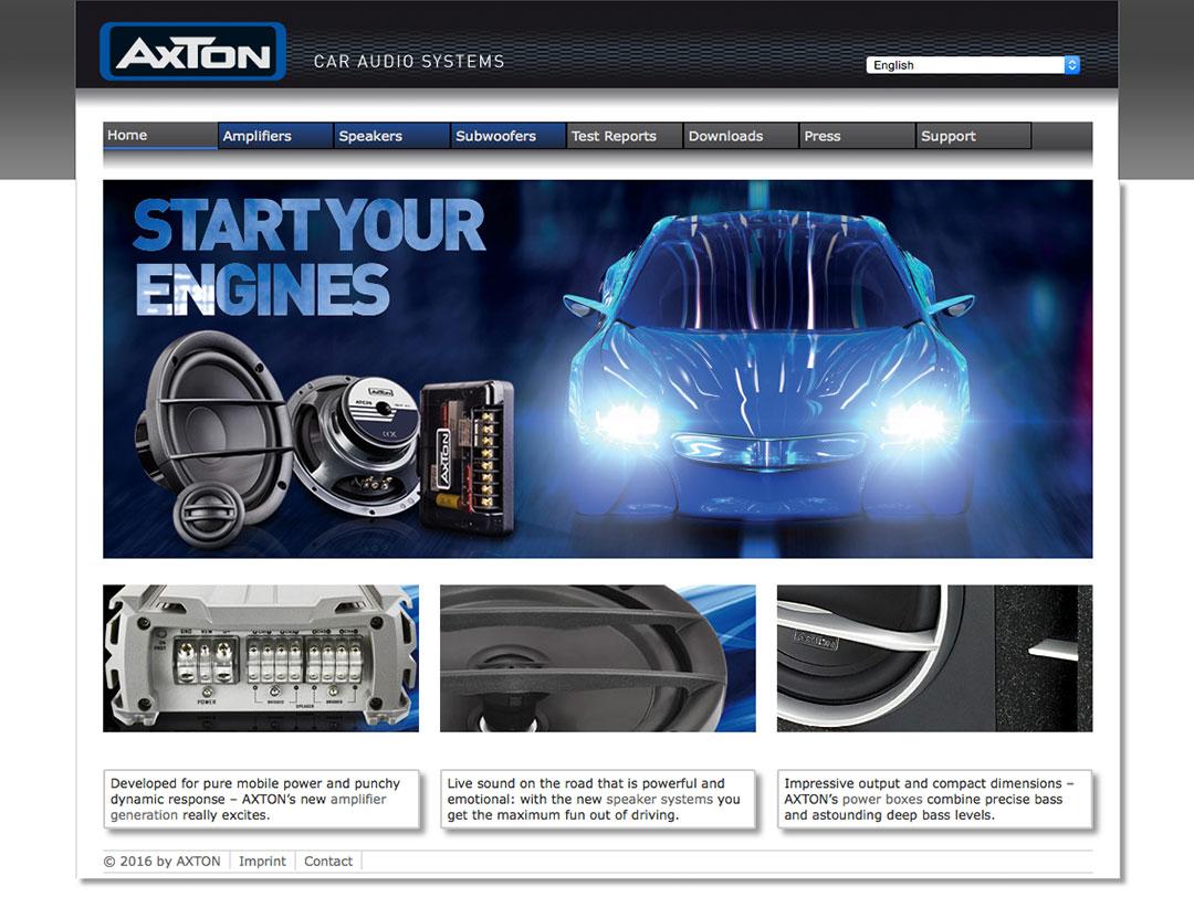 Webseite: www.axton.de