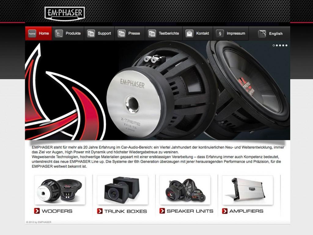 Webseite: www.emphaser.com