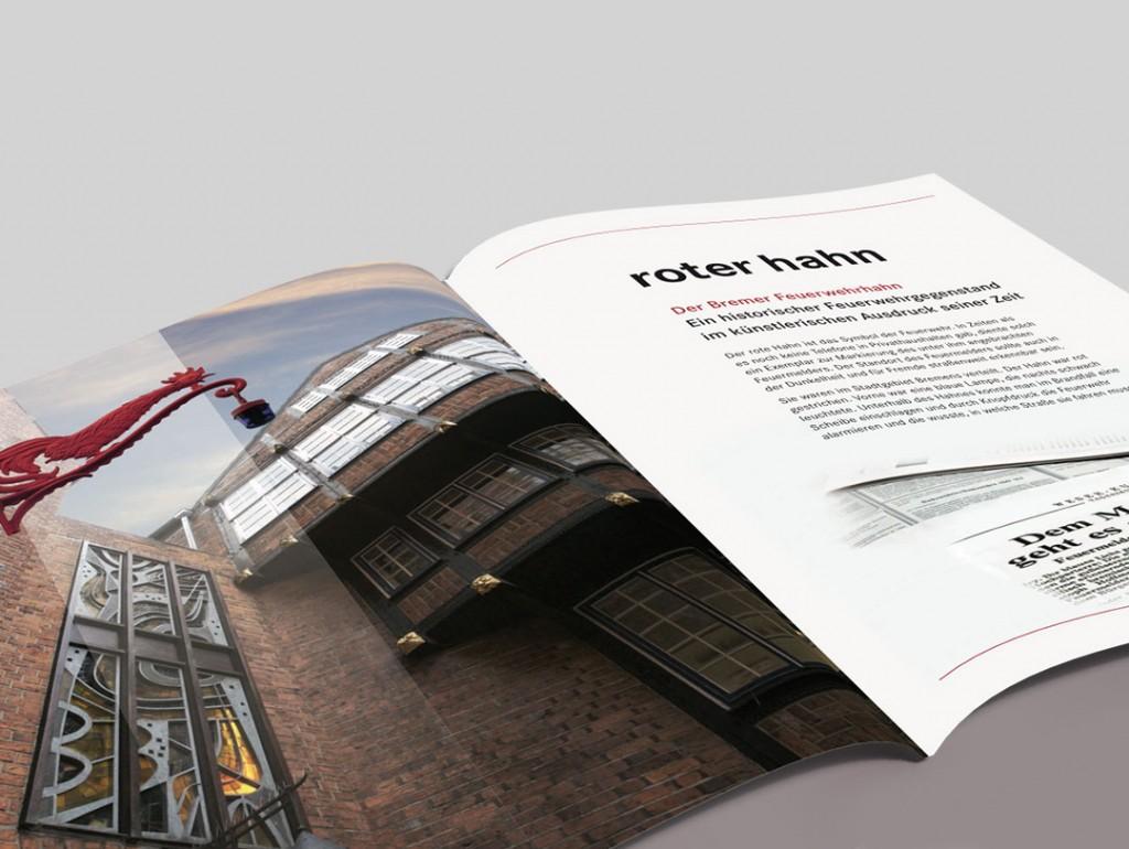 Entwurf, Layout und Druckvorlage: Speisekarte