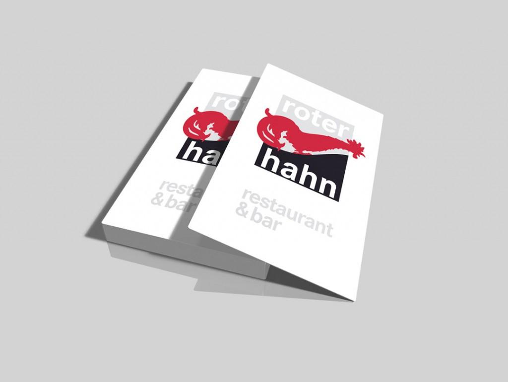 Logoentwicklung, Visitenkarte